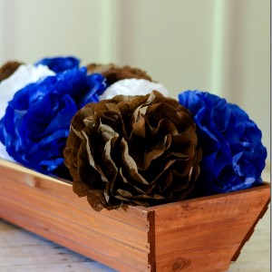 Paper Flowers for Fall