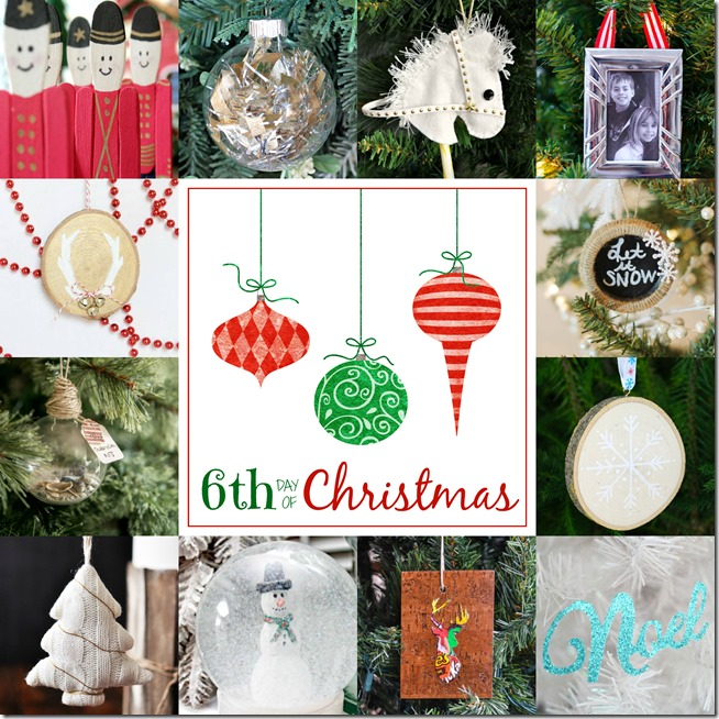 12 bloggers + 12 days = 144 handmade Christmas ornaments