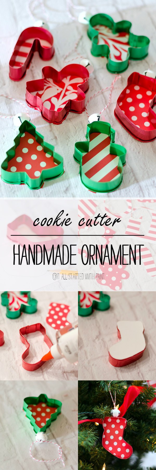 Handmade-Ornament-Cookie-Cutter-Ornament Ideas