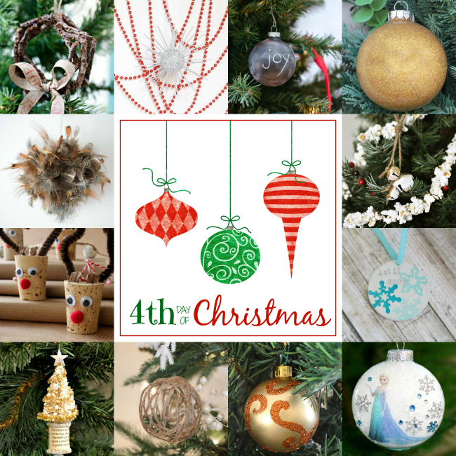 12 bloggers + 12 days = 144 Handmade Christmas Ornaments!