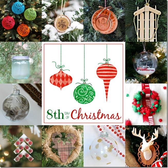 the 7th day of christmas - Christmas Decoration Craft Ideas