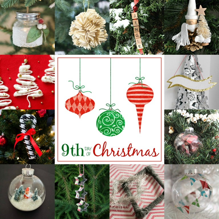 christmas ornament crafts day 9 1000 x 1000 - Plaid Christmas Ornaments