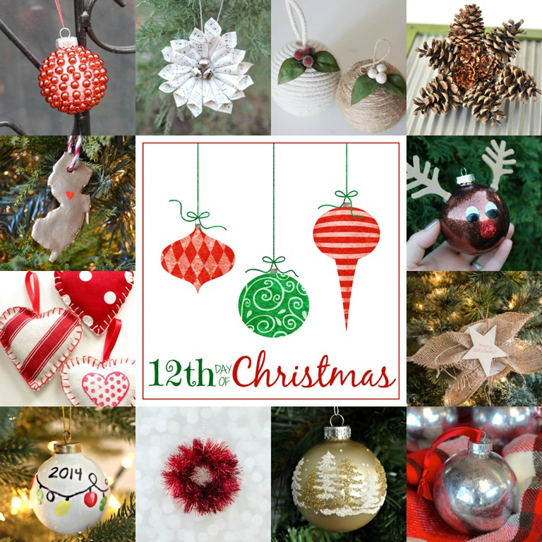 christmas ornaments day 12 - Christmas Bulb Decorations
