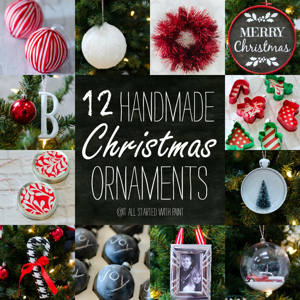 Christmas Craft Ideas: Homemade Ornaments