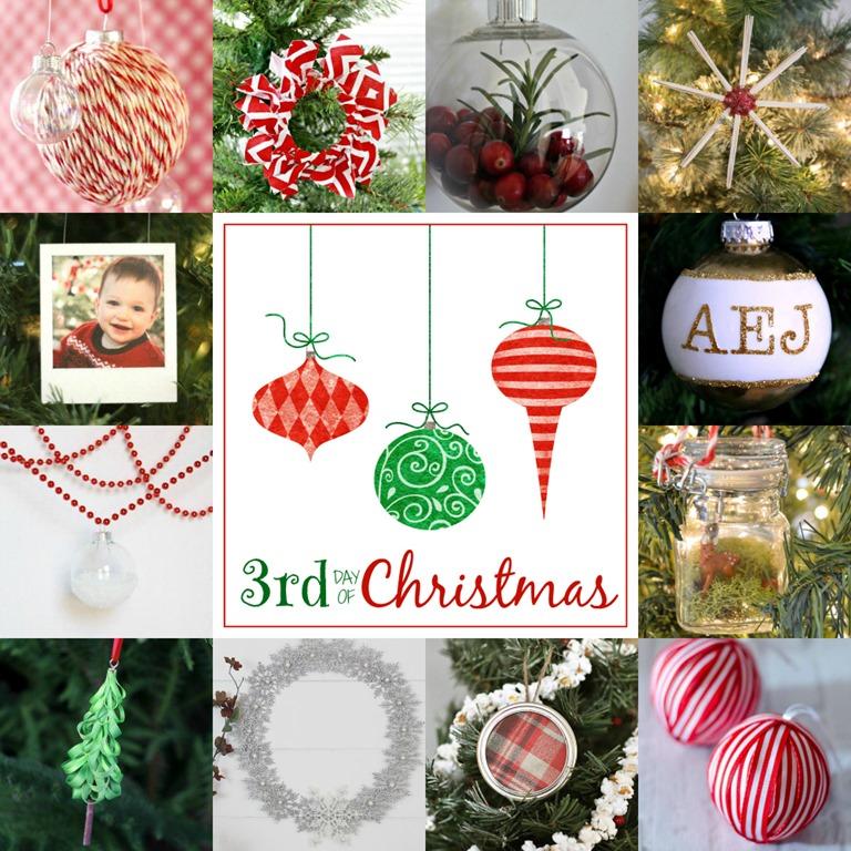 Mason Jar Ring Fabric Christmas Ornament