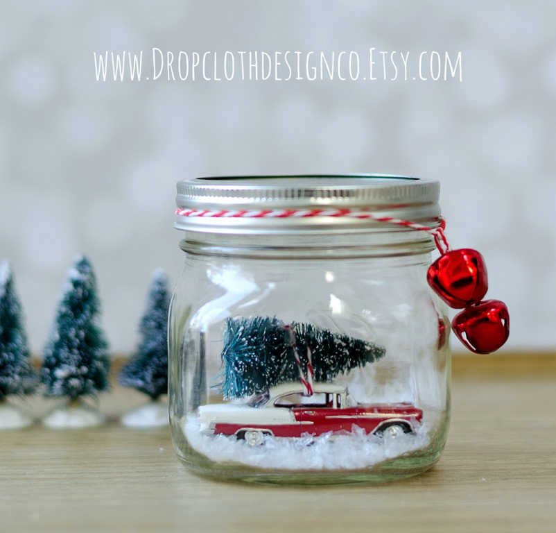 MakeMason Jar Tree Globes
