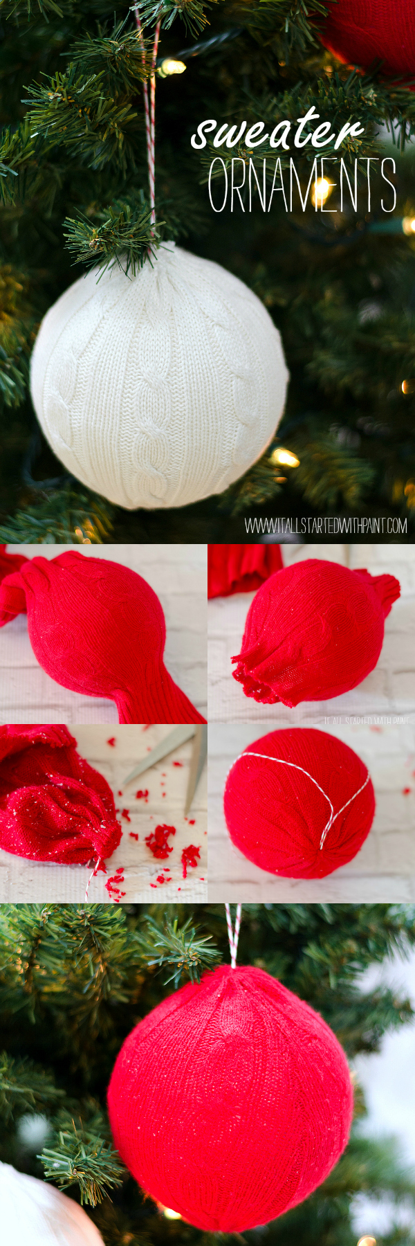 Christmas Crafts handmade ornament ideas for kids