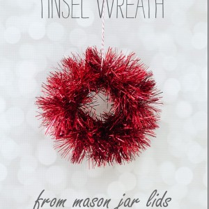 Mason Jar Band Mini Wreath