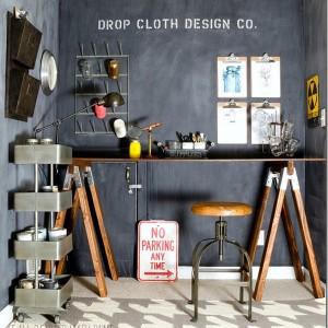 industrial look office