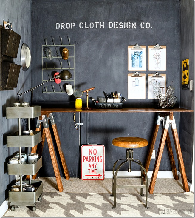 chalkboard-wall-sawhorse-desk-office-space-6 2
