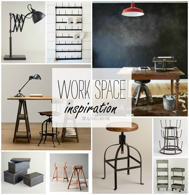 craft-office-space-chalkboard-wall-industrial-look-trestle-desk