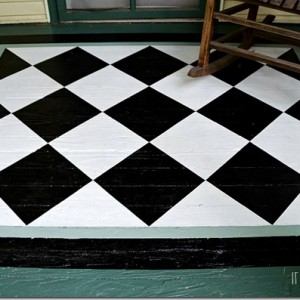 painted porch rug 2