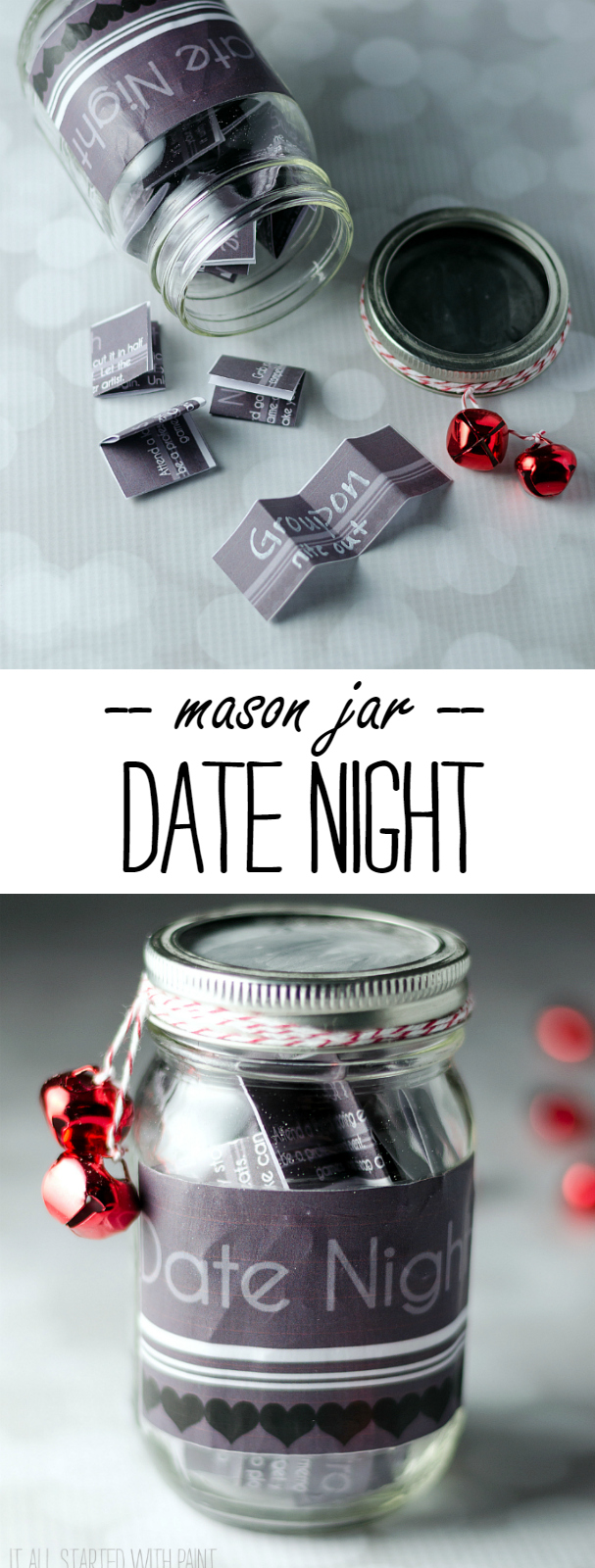Date Night in Jar - Mason Jar Craft Ideas