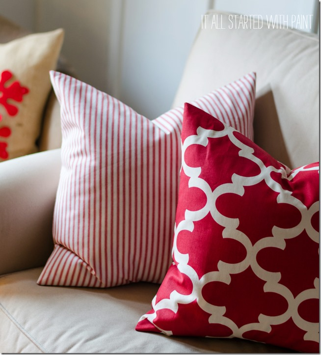 red-white-fabric-pillows
