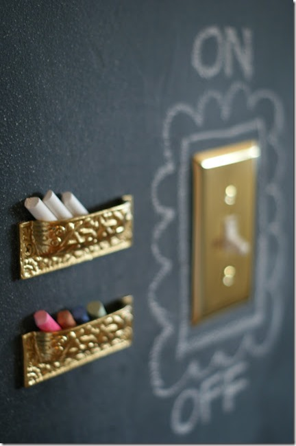 chalkboard-wall-chalk-holder @dimples and tangles