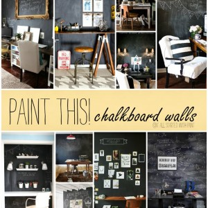 Paint This! Chalkboard Walls in Office Spaces