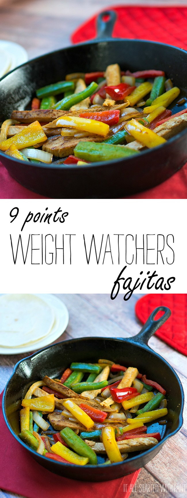 Weight Watches Fajita Recipe - Healthy Chicken Fajita Recipe