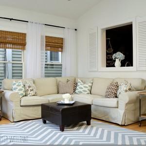How To Hang Shutters … Indoors