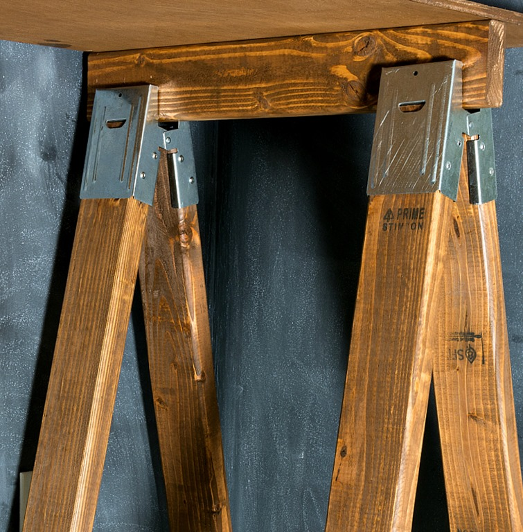 saw horse desk how to it all started with paint. Black Bedroom Furniture Sets. Home Design Ideas
