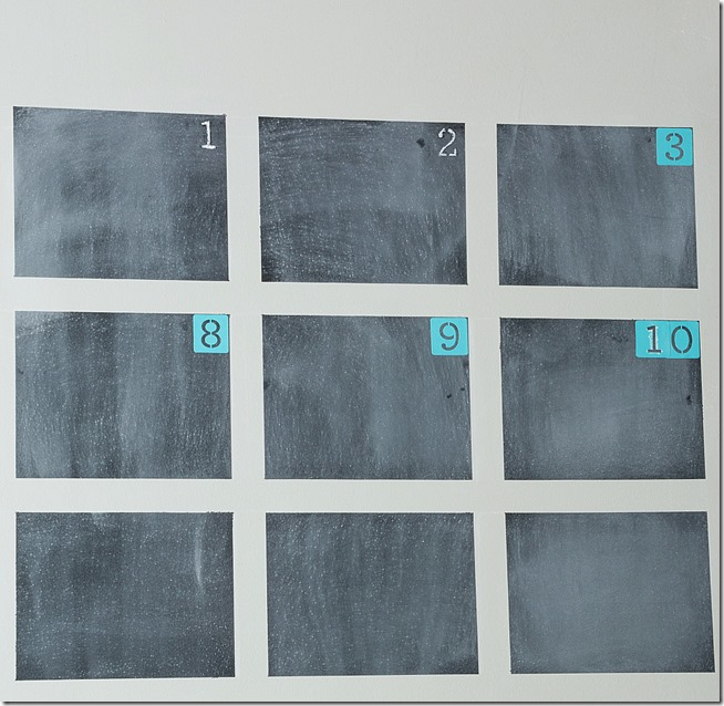 how-to-paint-chalkboard-calendar-on-the-wall 2-4