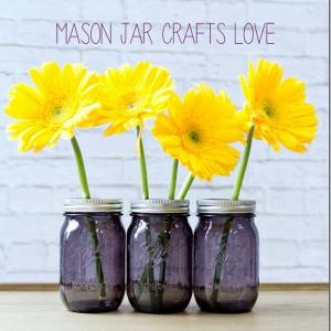 Purple Mason Jar Giveaway