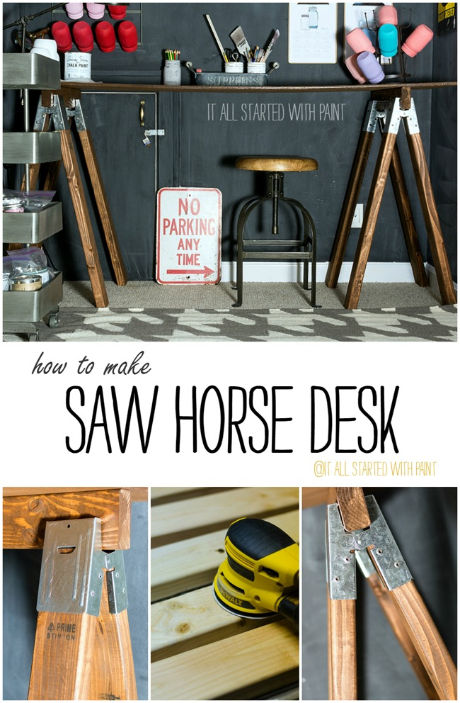 saw-horse-desk-DIY