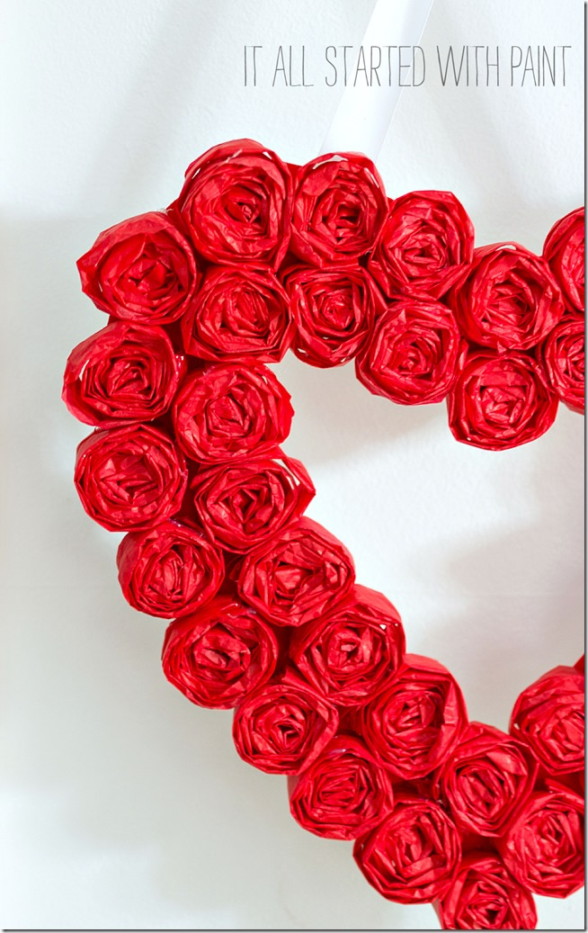 tissue-paper-rosette-valentine-day-wreath-7 2