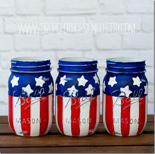 red-white-blue-american-flag-mason-jars