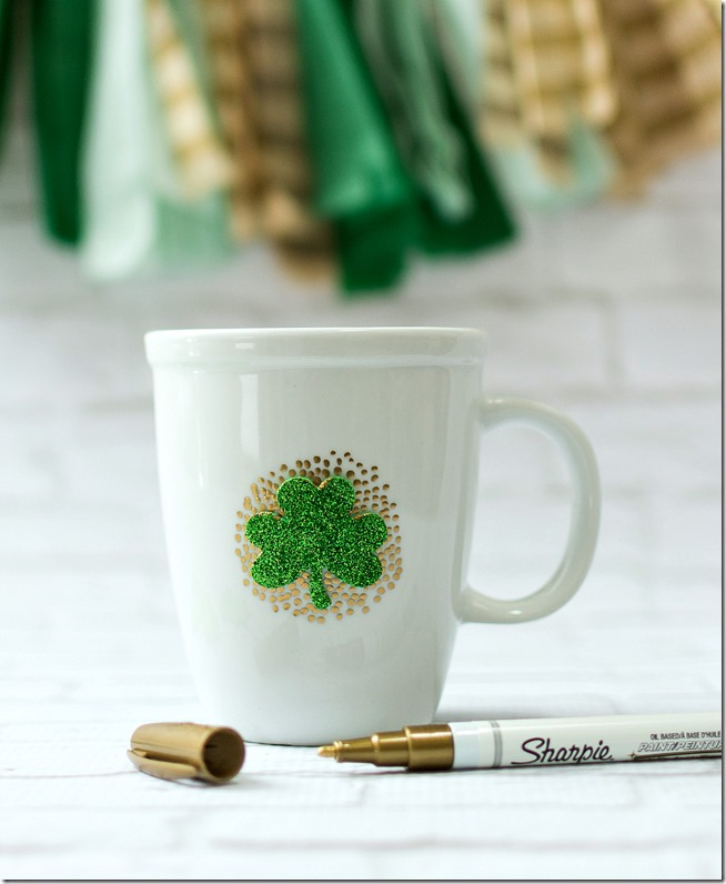 Shamrock Irish Coffee Mug