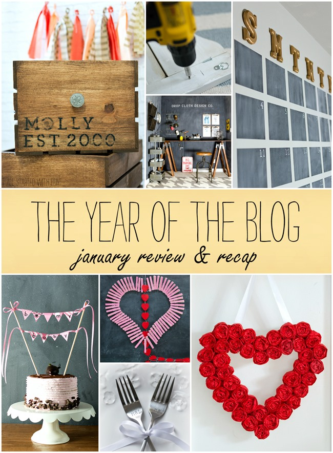 the year of the blog january