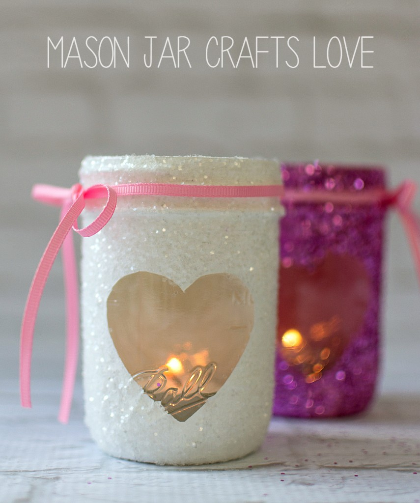 mason jar craft for valentines day
