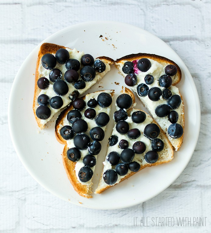 Weight Watchers Breakfast ideas: Blueberry Danish