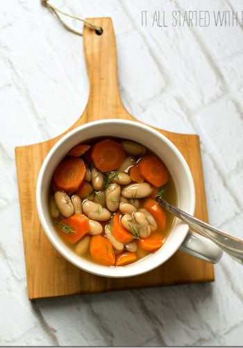 Weight Watchers 4-Point Cannellini Bean Soup