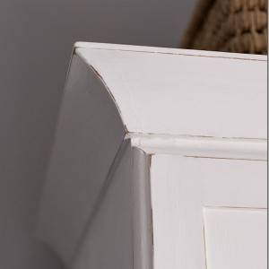 chalk paint white armoire