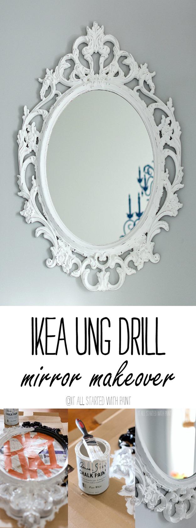 Ikea-Ung-Drill-Mirror-Makeover