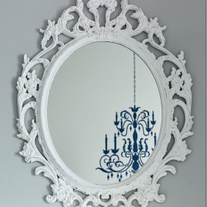 Ikea Mirror Makeover … And Teen Girl Groupies