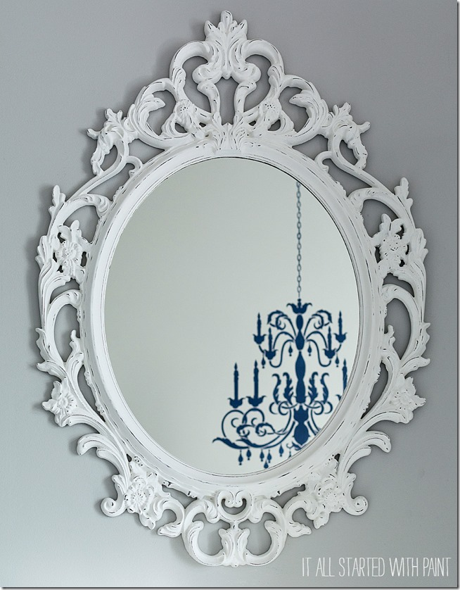 Ikea Mirror Makeover 4