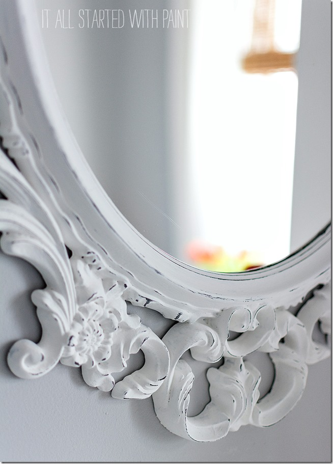Ikea-mirror-makeover