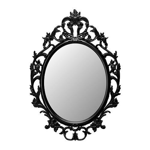 Ikea-ung-drill-mirror-black