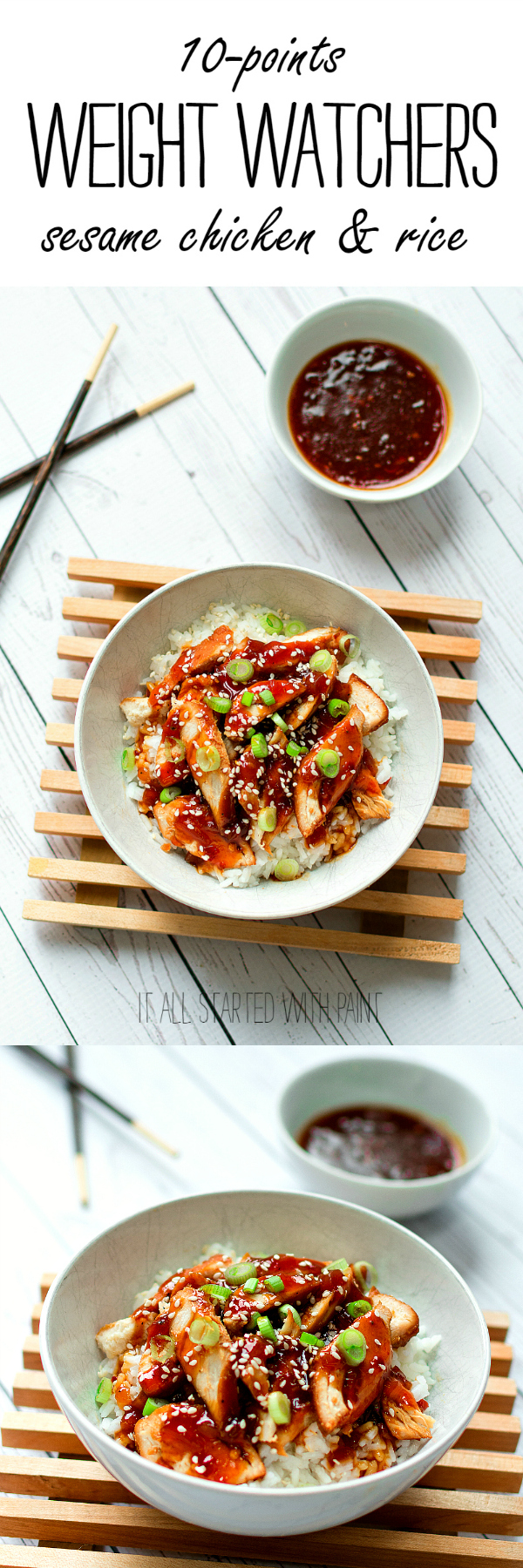 Sesame Chicken Recipe for Weight Watchers - Healthy and Easy