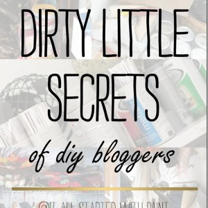 Dirty Little Secrets …