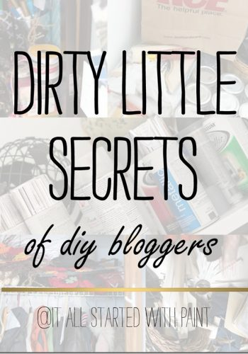 Dirty Little Secrets …