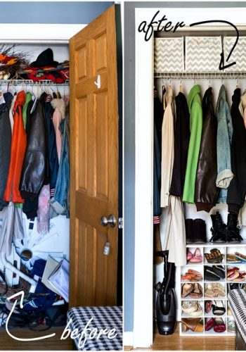 Dirty Little Secrets: Cleaning & Organizing the Entry