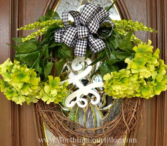 easy wreath diy for spring