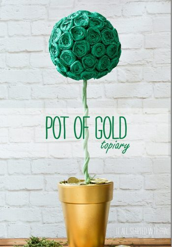 Pot Of Gold Topiary