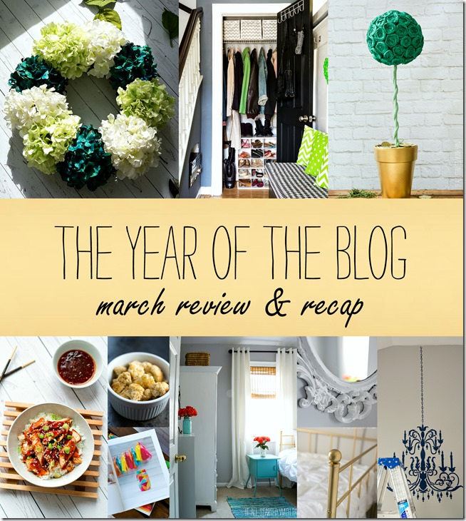 march 2015 blog recap