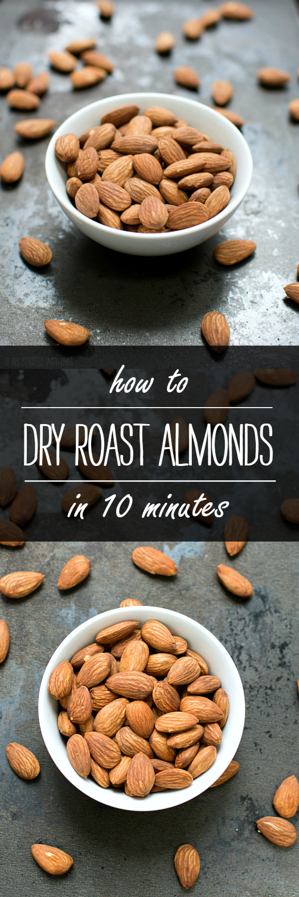Dry Roasted Almonds: How To Easily Dry Roast in 10 Minutes
