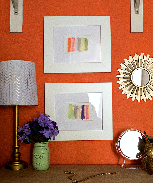 Easy DIY Wall Art Project Idea