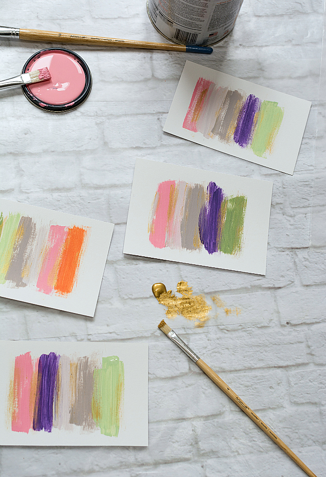 DIY Wall Art With Paint Ideas