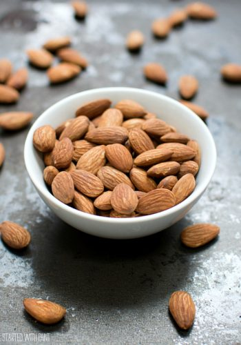 Dry Roasted Almonds Recipe